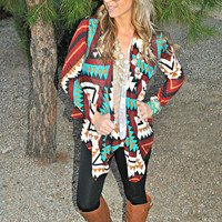 TIS THE AZTEC SEASON WINE CARDI