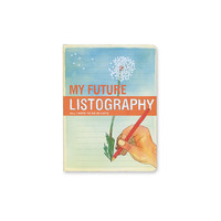Future Listography Book - Urban Outfitters