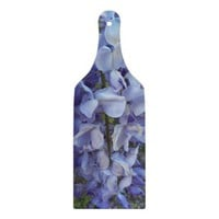 Purple Wisteria Glass Cutting Board