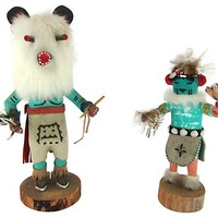 Kachina Dolls, Pair
