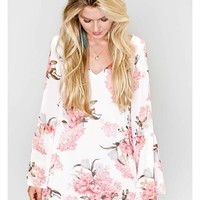 Show Me Your Mumu Bachlorette Dress in Blossom Blush