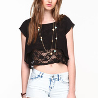LACE UNDERLAY CROP TOP