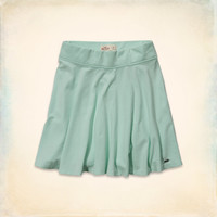 Hollister High Rise Knit Skater Skirt