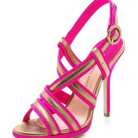 Avellana Faille Sandals