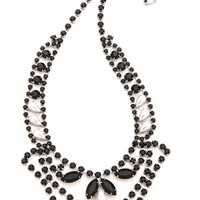 Dumont Pearl Noir Tiered Necklace