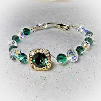Emerald Green Dream Bracelet