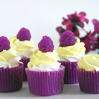Raspberry Lemonade 3 oz Cupcake Soap