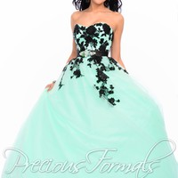 Posh Precious by Precious Formals O21045 Embroidered Ball Gown