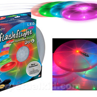 NITE IZE-FLASHFLIGHT DISC-O (COLOR CHANGING) FLYING DISC