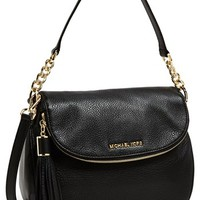 MICHAEL Michael Kors 'Bedford Tassel - Medium' Convertible Leather Shoulder Bag | Nordstrom