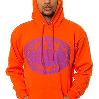 The Classic KO Pullover Hoody in Orange