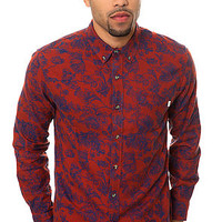 The Westley Buttondown in Red