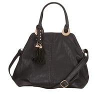 crossbody bag with tassels