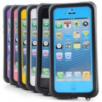 iPhone 5C- Waterproof, Dirtproof, Snowproof, Shockproof Case (Black)