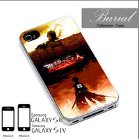 Attack Of Titan Case For iPhone 4/4S,iPhone 5,iPhone 5S,iPhone 5C,Samsung Galaxy S2/S3/S4,Galaxy S4 Mini