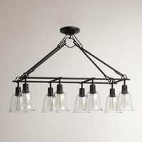 8-BELL RECTANGULAR PENDANT LAMP