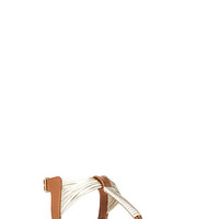 Voyager Metallic Sandals