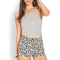 Sweet Daisy Denim Shorts | FOREVER21 - 2000070494