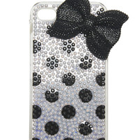 Beads & Bow iPhone 4/4S Case | Wet Seal