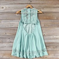 Sage Shadows Dress