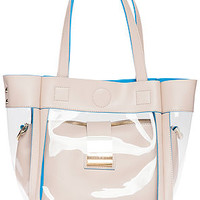 The West Avenue Bag in Transparent Cream