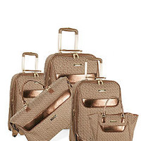 Anne Klein Signature Luggage Collection- Brown - Belk.com