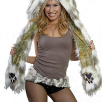 Lucky Rabbit Faux Fur Animal Hat