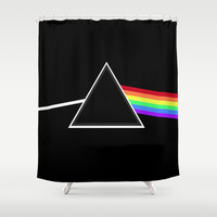 Generic Side Of The Moon Shower Curtain by Pop E. Carp