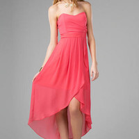 VERADA STRAPLESS DRESS