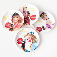 Pinup Melamine Plates - Set of 4
