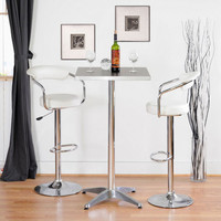 Soda Shop Bar Stool - White