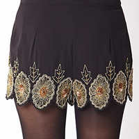Striking Embellished Shorts