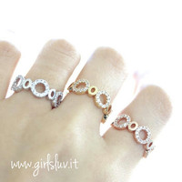 girlsluv.it - circle ring, crystals