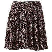 LC Lauren Conrad Floral Circle Skirt