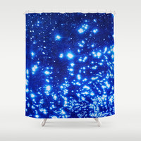 NATURAL SPARKLE 2 Shower Curtain by Catspaws