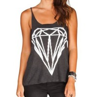 FULL TILT Diamond Womens Muscle Tank