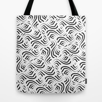 Abstract Pattern 1 Tote Bag by mollykd