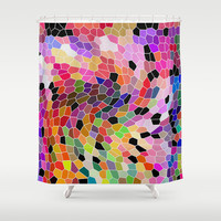 PATTERNJOY Shower Curtain by Catspaws