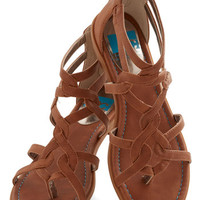 BC Footwear Campfire State of Mind Sandal in Whiskey | Mod Retro Vintage Sandals | ModCloth.com
