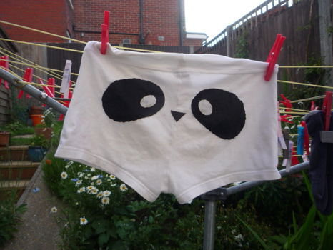 Panda Shorts | Creation | Cut Out + Keep
