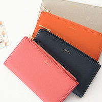 Cosette Leather Slim Wallet