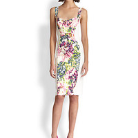 Sadie Panel Sheath Dress