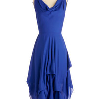 ModCloth Mid-length Sleeveless A-line Wrapped Up in Drama Dress
