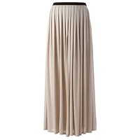 LC Lauren Conrad Pleated Maxi Skirt