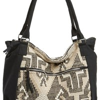 BP. Embroidered Cotton Tote (Juniors) | Nordstrom