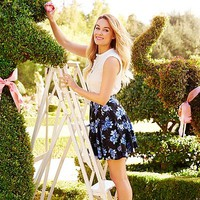 LC Lauren Conrad Blue Mood Look 1