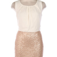 Shimmer on Sequin Dress
