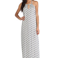 BCBGeneration Strappy Maxi Dress in Mink Multi from REVOLVEclothing.com