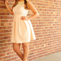 EVERLY: Better Than The Rest Dress: Light Peach | Hope's