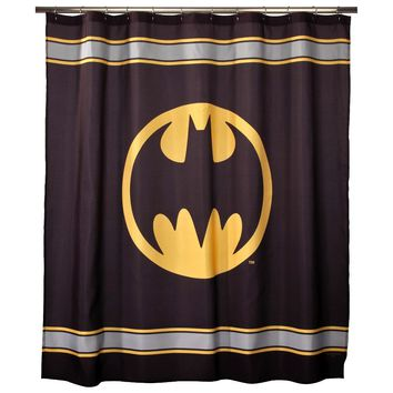 Batman Fabric Shower Curtain